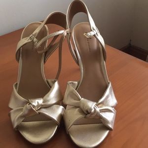 Gold shoes in time for prom